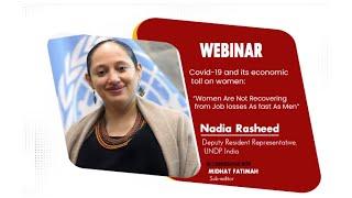 Covid-19 Impact: 'Women Not Recovering From Job Loss As Fast As Men Are', Says Nadia Rasheed, UNDP India Representative