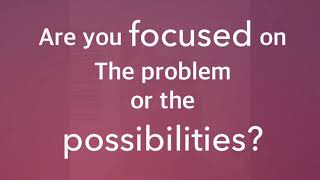 What are you focusing on?