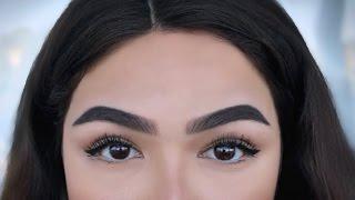 Смотреть онлайн Как правильно красить брови, урок профессионала