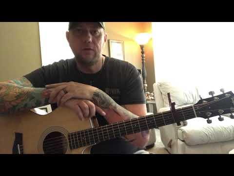 Prayed For You - Matt Stell (guitar lesson)
