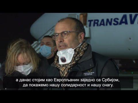 EU finansirala transport 40 tona hitne medicinske opreme za borbu protiv COVID19