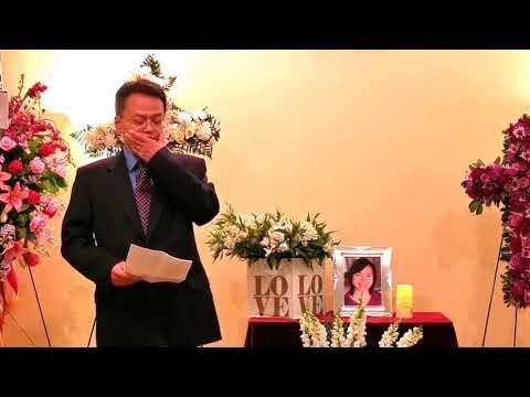 Kathy Ke Memorial Service 2019/04/27 (10) -- Husband Speech