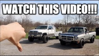 WATCH THIS VIDEO BEFORE BUYING A USED CUMMINS DIESEL!!!