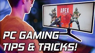 8 PC Gaming TIPS And TRICKS To Make Your Computer Even Better! 😎