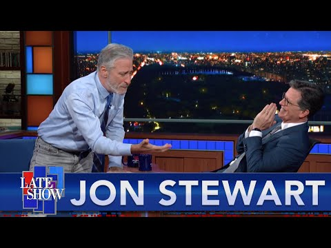 They Are Going To Kill Us All' - Jon Stewart Declares His Love For Scientists