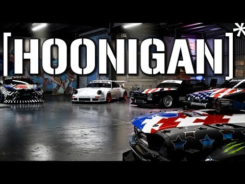 Hoonigan Cars In Need For Speed Payback - 1080pHD