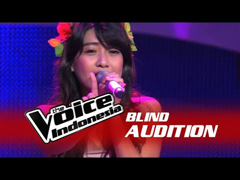 "Vanessa Axelia ""Halo"" I The Blind Audition I The Voice Indonesia 2016"