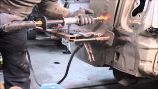 TOYOTA Avensis. Body repair. Ремонт кузова.