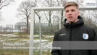 Sturmtalent Philipp Harant