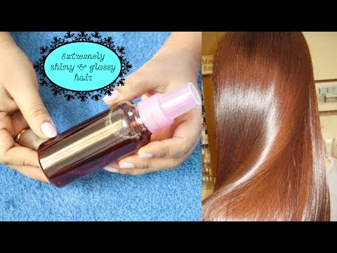 Only One Ingredient make my Hair Super Glossy and Shiny Instantly