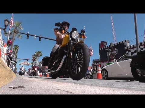 'Main Street Moments' - Bike Week 2017, Daytona Beach, FL, U.S.A.