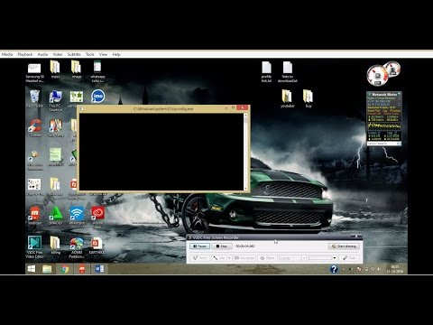 Video #2 How to fix C:WindowsSystem32ipconfig.exe cmd Black Screen flashing up malware