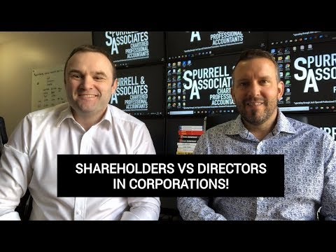 Shareholders Vs Directors In Corporations