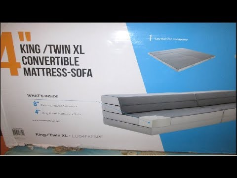 Lucid Convertible King Mattress Review