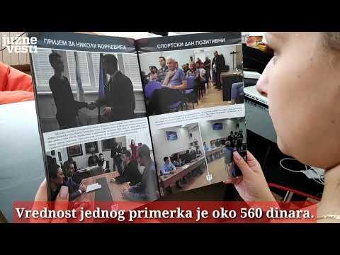 Medijanin informativni glasnik ili foto-album predsednika Kocića, skuplji od pola miliona