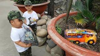 Trò Chơi Bé Vui Sân Nhà Xe Con ❤ ChiChi ToysReview TV ❤ Đồ Chơi Trẻ Em Baby Doli Fun Song Bài Hát