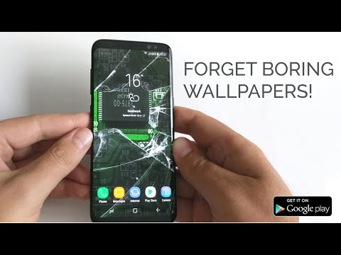 Hologram Background Video