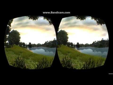 Simple Terrain Demo in Unity 3D — Oculus