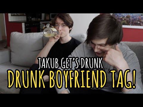Drunk Boyfriend Tag!   Gay Couple Challenge