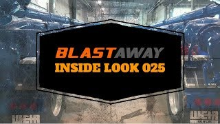 BLASTAWAY | INSIDE LOOK 025 | Spraying Blue Endura Paint on Manifold Trailer