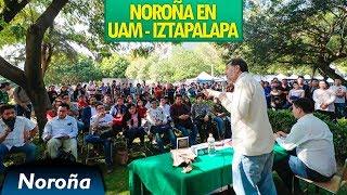 El Gobierno Popular de AMLO - Noroña en la UAM Iztapalapa