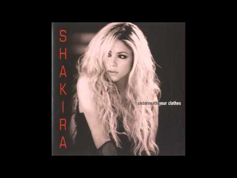 Shakira - Underneath Your Clothes Karaoke / Instrumental with lyrics