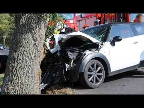 Wideo1: Wypadek na trasie Gostyń - Poniec