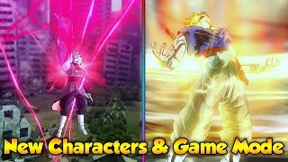 DLC 8 NEW GAME MODE & NEW CHARACTERS! - Dragon Ball Xenoverse 2