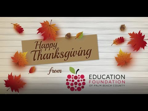 Happy Thanksgiving from EFPBC