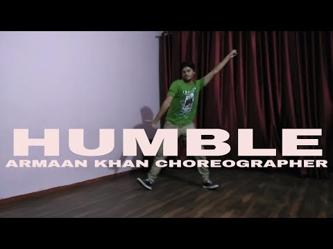humble by armaan khan choreographer