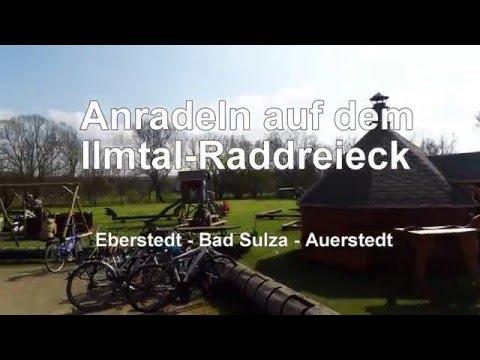 Anradeln auf dem Ilmtal-Raddreieck in Thüringen