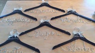 SAY YES TO THE WEDDING - DIY Wedding Hangers