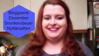 Desember Bloggserie | Sminkevideoer | Nyttårsaften