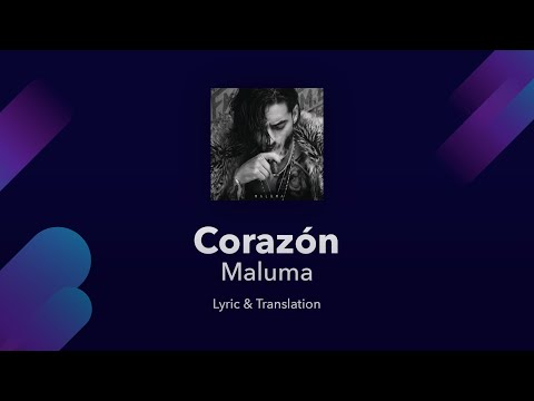 Maluma - Corazón Lyrics English and Spanish (& Portuguese) ft. Nego do Borel (Translation)
