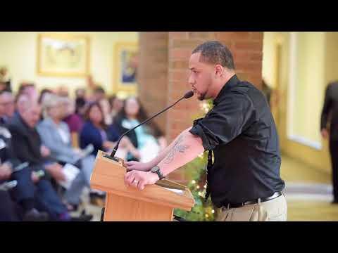 2018 Scholarship Reception: Student Speaker