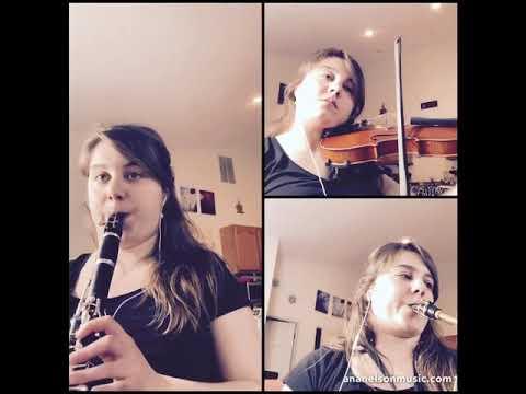 Ana Nelson's arrangement of Bach's Solfeggietto