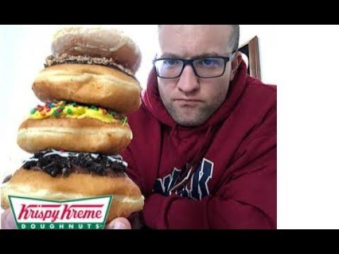 Krispy Kreme | Lemon Glazed Review | Oreo/Cake Batter/Chocolate Chip Specialty Donut Review