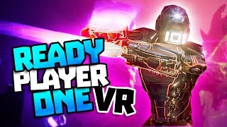 AMAZING READY PLAYER ONE VR GAME! - Ready Player One: OASIS Beta VR Gameplay - Rise of the Gunters