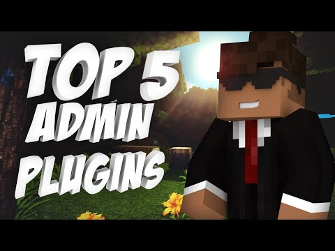 Top 5 Admin Plugins   Minecraft