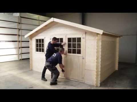 ¿Cómo montar caseta de madera para jardín?