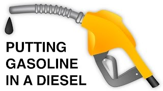 Putting Gasoline In A Diesel Car   What Happens?