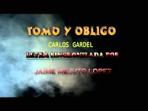 Tomo obligado Carlos Gardel