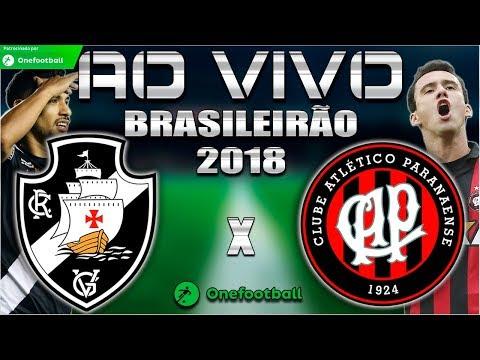 Vasco 1x1 Atlético-PR | Sport 0x0 Vitória | Brasileirão 2018 | Parciais Cartola FC | 34ª Rodada |