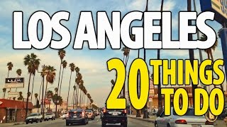 Gambar cover 20 BEST THINGS TO DO IN LOS ANGELES ♥ Top Attractions LA Travel Guide