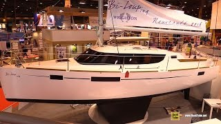 2016 Wrighton Bi-Loup 109 Sailing Yacht - Deck And Interior Walkaround - 2015 Salon Nautique Paris