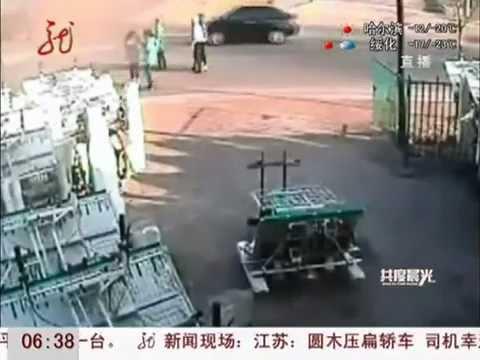 15歲女孩車禍瞬間推開同學自己被車撞飛