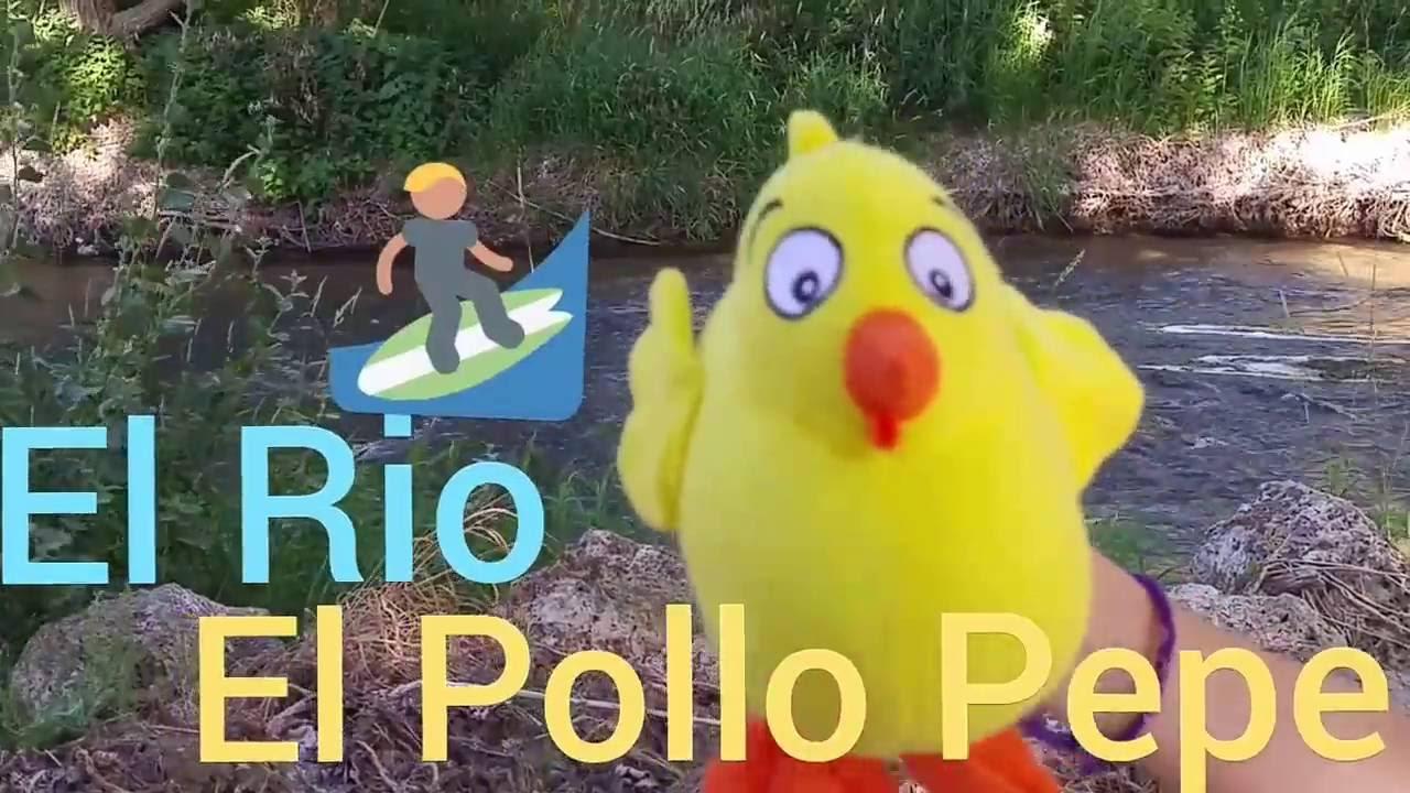 El Pollo Pepe, Hello Kitty y EL RÍO
