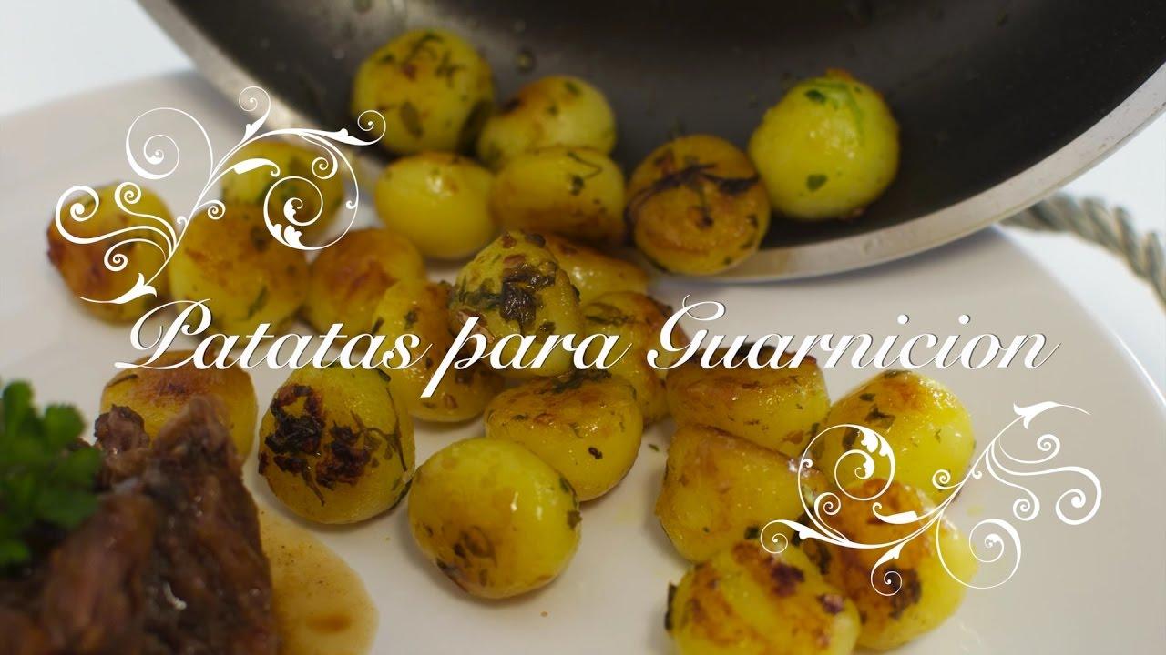 Patatas para Guarnicion | Guarniciones para carnes | Patatas de Guarnicion | Patatas Parisinas