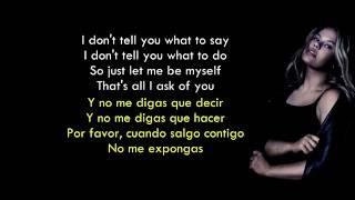 You don´t own me - Grace ft. G-Eazy (Lyrics English/Spanish)
