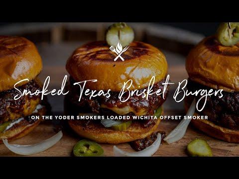 Smoked Texas Brisket Burger
